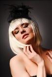 Retrato da modalidade da sensualidade imagem de stock royalty free