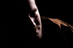 Retrato da monge Foto de Stock