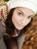 Retrato da mulher foto de stock royalty free