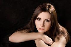 Retrato da mulher Foto de Stock