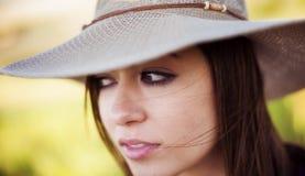 Retrato da mulher Fotos de Stock