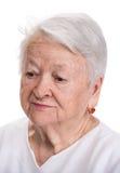Retrato da mulher adulta foto de stock