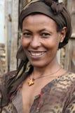 Retrato da mulher africana Imagem de Stock