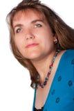 Retrato da mulher agradável. Fotos de Stock