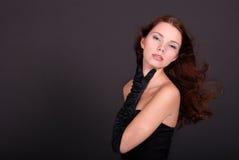 Retrato da mulher atrativa Fotografia de Stock Royalty Free