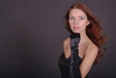 Retrato da mulher atrativa Imagem de Stock
