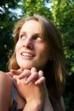 Retrato da mulher atrativa nova Fotos de Stock Royalty Free