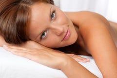 Retrato da mulher bonita Fotos de Stock