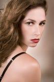 Retrato da mulher bonita Foto de Stock