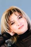 Retrato da mulher bonita Fotos de Stock Royalty Free