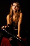 Retrato da mulher bonita Imagens de Stock Royalty Free