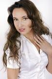 Retrato da mulher bonita, composição profissional Imagens de Stock
