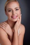 Retrato da mulher bonita da maturidade foto de stock royalty free