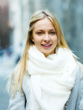 Retrato da mulher bonita nova fotos de stock royalty free