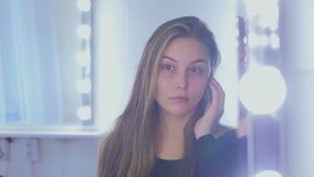 Retrato da mulher bonita sem composição filme