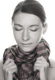 Retrato da mulher consideravelmente nova Imagem de Stock