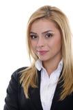 Retrato da mulher de negócio Imagem de Stock