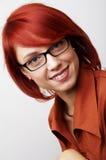 Retrato da mulher de negócio Imagem de Stock Royalty Free