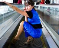 Retrato da mulher de negócio de sorriso Foto de Stock