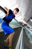 Retrato da mulher de negócio de sorriso Imagem de Stock Royalty Free