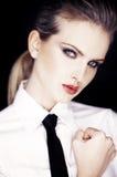 Retrato da mulher de negócio urbana Imagens de Stock Royalty Free