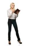 Retrato da mulher de negócios Imagem de Stock