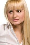 Retrato da mulher de negócios Imagens de Stock Royalty Free