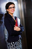 Retrato da mulher de negócios Foto de Stock