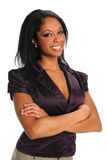 Retrato da mulher de negócios nova fotos de stock royalty free