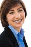 Retrato da mulher de negócios sênior imagem de stock