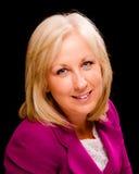 Retrato da mulher de negócios de meia idade Fotos de Stock Royalty Free