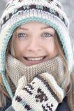 Retrato da mulher de sorriso nova Fotos de Stock Royalty Free