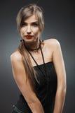 Retrato da mulher de Yong Fotografia de Stock Royalty Free