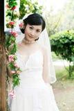 Retrato da mulher do casamento Imagem de Stock
