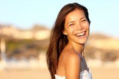 Retrato da mulher do verão imagem de stock royalty free