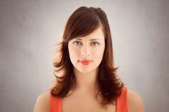 Retrato da mulher do vintage Fotografia de Stock Royalty Free