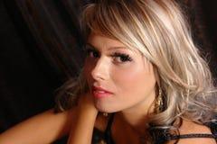 Retrato da mulher do youn Imagem de Stock Royalty Free