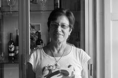 Retrato da mulher em Perugia imagem de stock royalty free