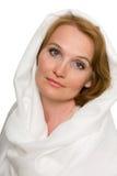 Retrato da mulher envelhecida média bonita fotografia de stock royalty free