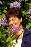 Retrato da mulher idosa Fotografia de Stock Royalty Free