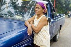 Retrato da mulher indonésia Foto de Stock
