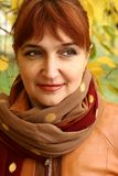 Retrato da mulher madura Foto de Stock Royalty Free