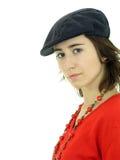 Retrato da mulher nova Imagem de Stock