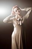 Retrato da mulher nova Imagens de Stock Royalty Free
