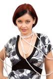 Retrato da mulher nova. imagem de stock royalty free