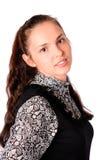 Retrato da mulher nova Fotografia de Stock