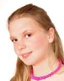 Retrato da mulher nova Imagem de Stock Royalty Free