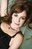 Retrato da mulher nova bonita Imagem de Stock Royalty Free