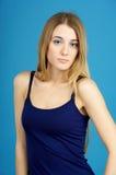 Retrato da mulher nova bonito imagem de stock royalty free
