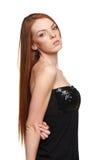 Retrato da mulher redheaded sensual Imagem de Stock Royalty Free